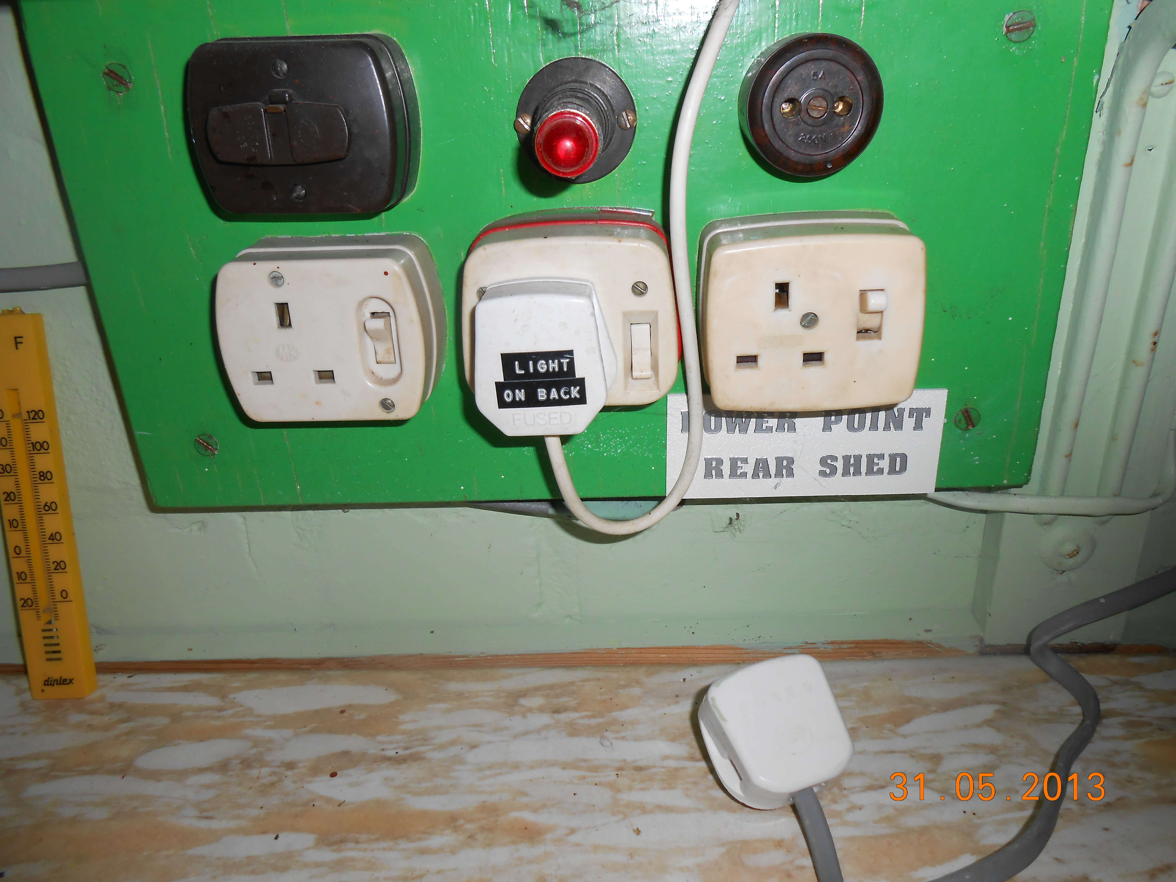 Check your electrics